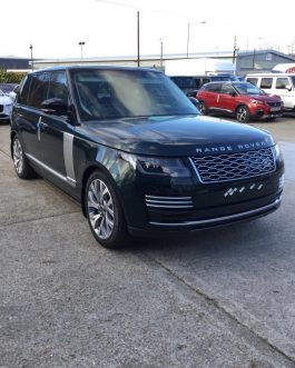 RANGE ROVER 2019 BLACK COLOR