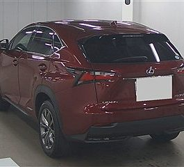 LEXUS Nx 2015 WINE COLOR Hybrid