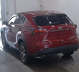LEXUS Nx 2017 RED COLOR Hybrid